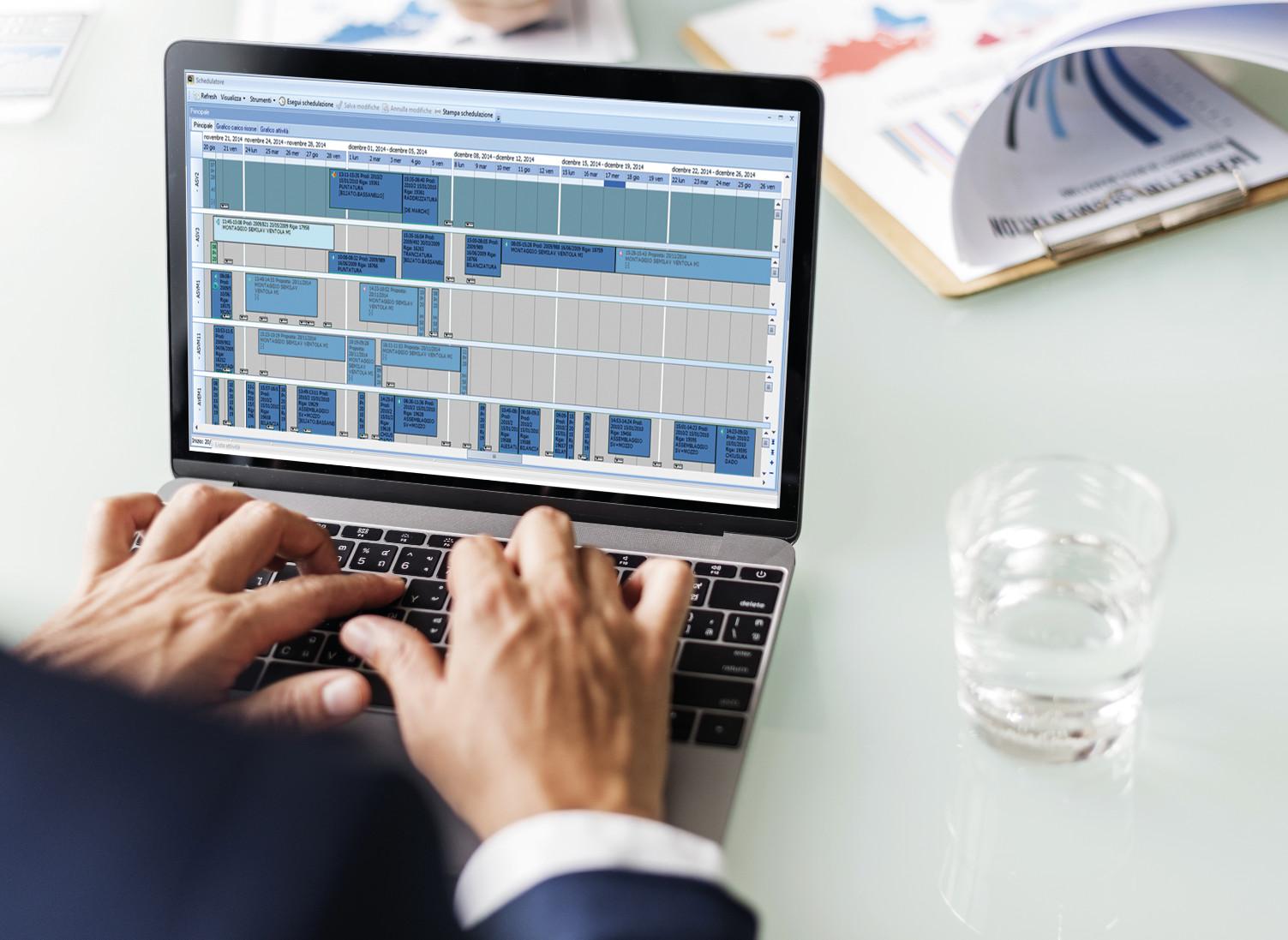 Schedulatore attività produttive