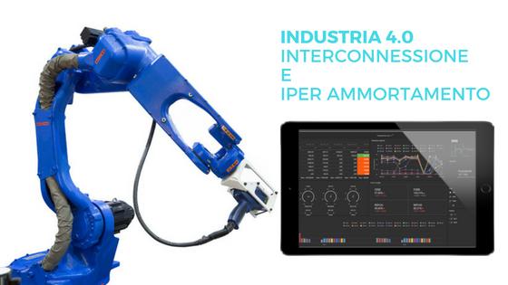 industria 4.0 interconnessione iper ammortamento